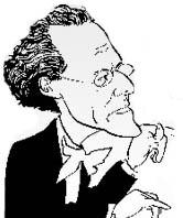 Gustav Mahler - sketch