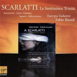 Vivica Genaux CD Santissima Trinita oratorio by Scarlatti