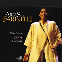 Vivica Genaux Sings Arias for Farinelli