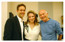 Jake Heggie, Kristin Clayton and Terrence McNally