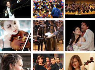 Classical musicians - collage