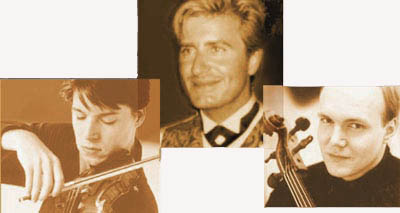 Jean-Yves Thibaudet, Joshua Bell, and Truls Mork