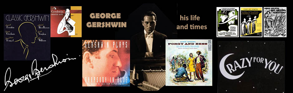 George Gershwin, beloved and best-known American composer