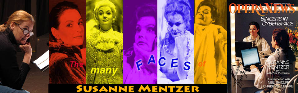 Opera singer Susanne Mentzer, mezzo-soprano